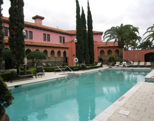 Pool at Spa Palazzo at Boca Raton Resort and Club, Florida (Photo by David G. Molyneaux, TheTravelMavens.com)