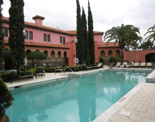 Pool at Spa Palazzo at Boca Raton Resort and Club, Florida (Photo by David G. Molyneaux, TheTravelMavens.com)