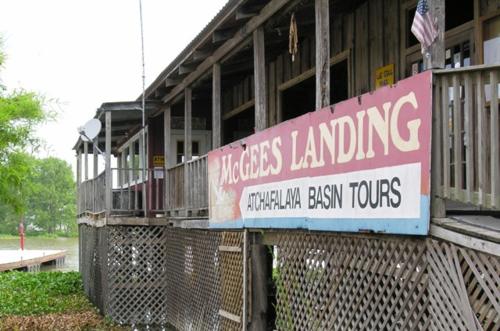 McGees Landing in the Atchafalaya Basin of Louisiana (Photo by David G. Molyneaux, TheTravelMavens.com)