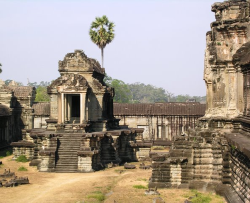 Angkor Wat honors the Hindu god Vishnu  (Photo by David G. Molyneaux, TheTravelMavens.com)
