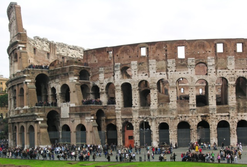 Roman Coliseum (photo by David G. Molyneaux, TheTravelMavens.com)