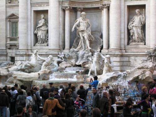 Rome's Trevi Fountain (photo by David G. Molyneaux, TheTravelMavens.com)