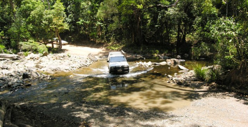 The main road crossing Daintree National Park, Queensland, Australia (Photo by David G. Molyneaux, TheTravelMavens.com)