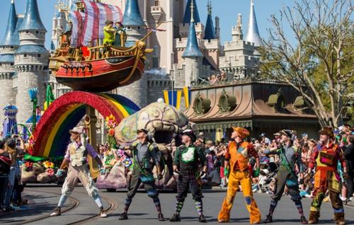 Peter Pan at Walt Disney World (Matt Stroshane, photographer)