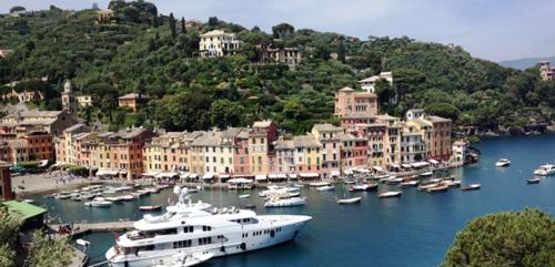 Harbor at Portofino, Italy  (Photo by David G. Molyneaux, TheTravelMavens.com)