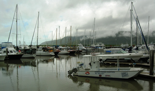 Marina at Cairns, Queensland, Australia (Photo by David G. Molyneaux, TheTravelMavens.com)