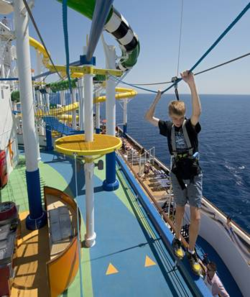 Carnival Sunshine ropes course (Andy Newman CCL)