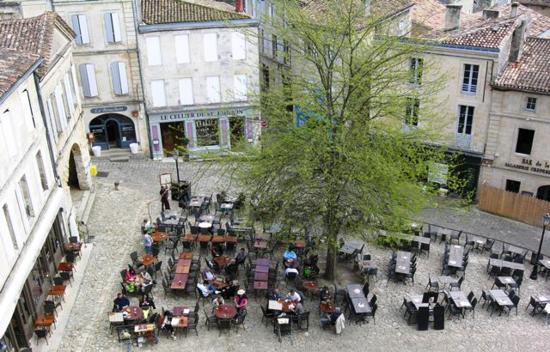 Saint-Emilion square in Bordeaux, France (Photo by David G. Molyneaux, TheTravelMavens.com)