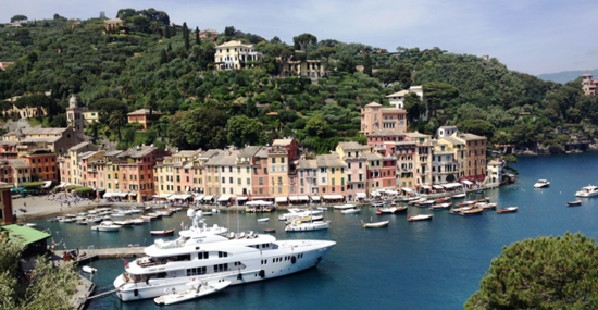 Harbor at Portofino, Italy (Photo by David G. Molyneaux, TheTravelMavens.com)