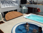 New pool and whirlpool on Star Breeze (Photo by David G. Molyneaux, TheTravelMavens.com)