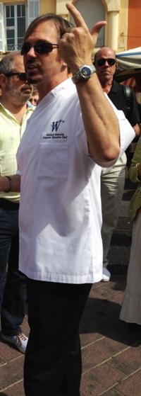 Michael Sabourin, corporate chef of Windstar Cruises (Photo by David G. Molyneaux, TheTravelMavens.com)