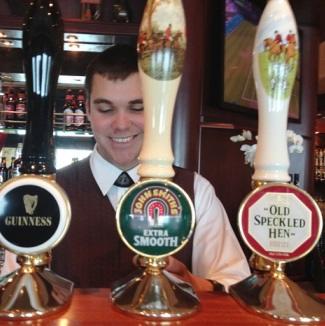 Golden Lion Pub on Queen Mary 2 (Photo by David G. Molyneaux, TheTravelMavens.com)