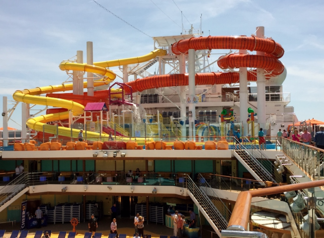 WaterWorks on Carnival Vista (Photo by David G. Molyneaux, TheTravelMavens.com)