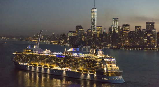 Quantum of the Seas in New York Harbor