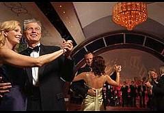 Dancing in the Queen's Room of Queen Mary 2