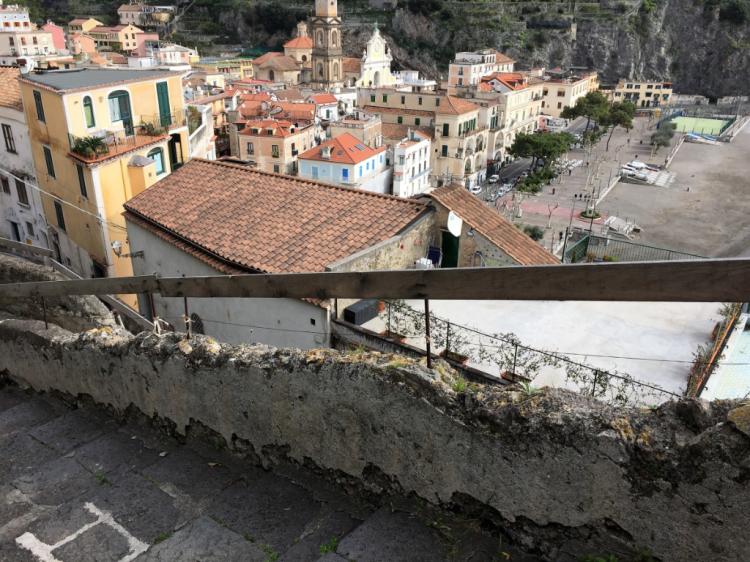 The climb to Ravello begins in Minori (Photo by David G. Molyneaux, TheTravelMavens.com)