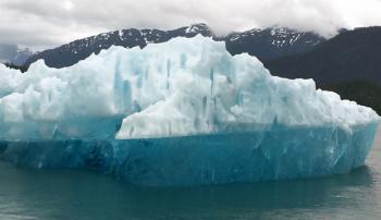 Daunting iceberg from LeConte Glacier (Photo by David G. Molyneaux, TheTravelMavens.com)
