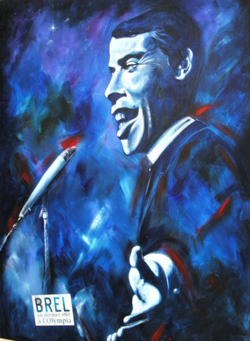 From Jacques Brel memorial in Atuona, the Marquesas