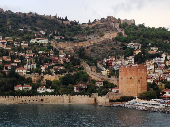 Passengers from Silver Spirit explored the ancient city of Alanya, on Turkey's southern coast on the Gulf of Antalya (Photo by David G. Molyneaux, TheTravelMavens.com)