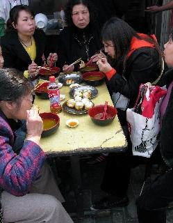 Lunch Old Town Shanghai China (David G. Molyneaux, TheTravelMavens.com)