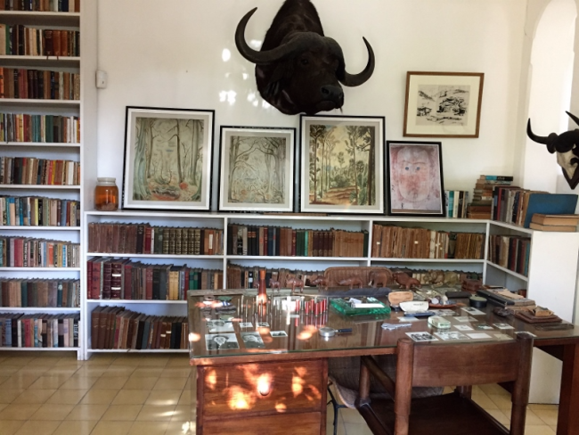 Ernest Hemingway's office outside Havana