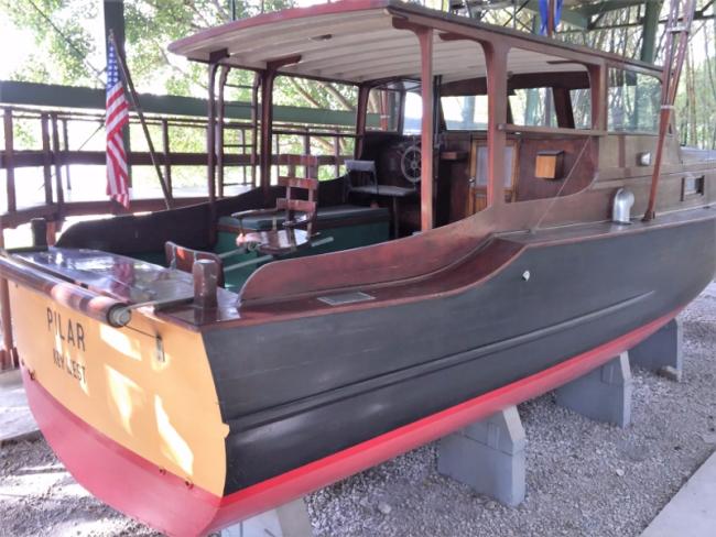 Ernest Hemingway's fishing boat, Pilar