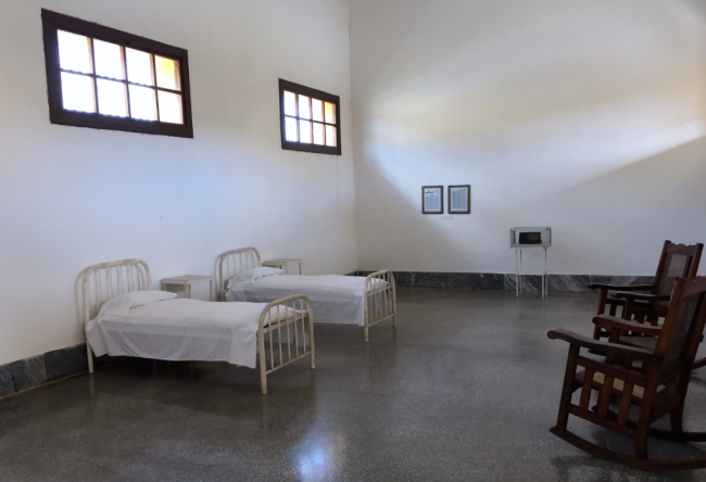 Private room for the Fidel and his brother at Modelo on Juventud, Cuba (Photo by David G. Molyneaux, TheTravelMavens.com)