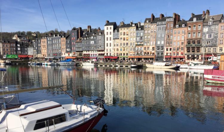 Honfleur on Normandy's Atlantic Coast is a favorite port excursion for passengers on Seine River cruises (Photo by David G. Molyneaux, TheTravelMavens.com)