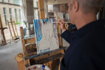 Avalon Waterways Active Discovery, painting Amsterdam