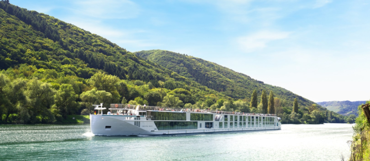 Crystal River Cruises' Crystal Bach on the Rhine in Germany (photo by Werney Beyer, Crystal River Cruises