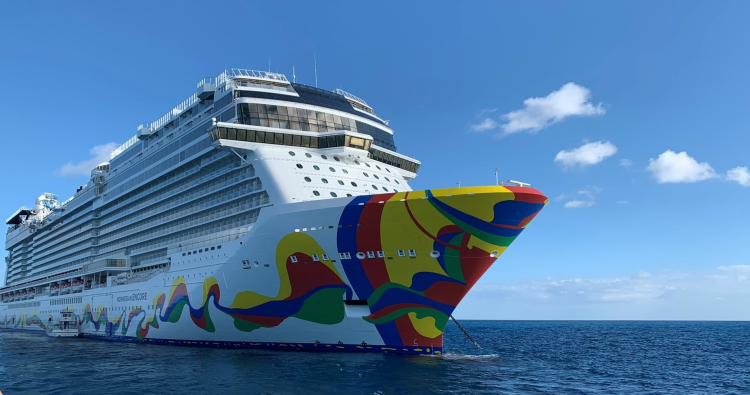 Norwegian Encore  (Photo by David G. Molyneaux, TheTravelMavens.com)