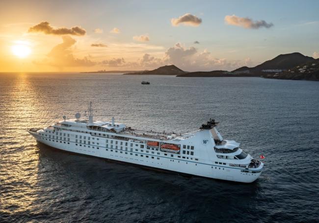 Star Breeze off  St Martin in June 2021
