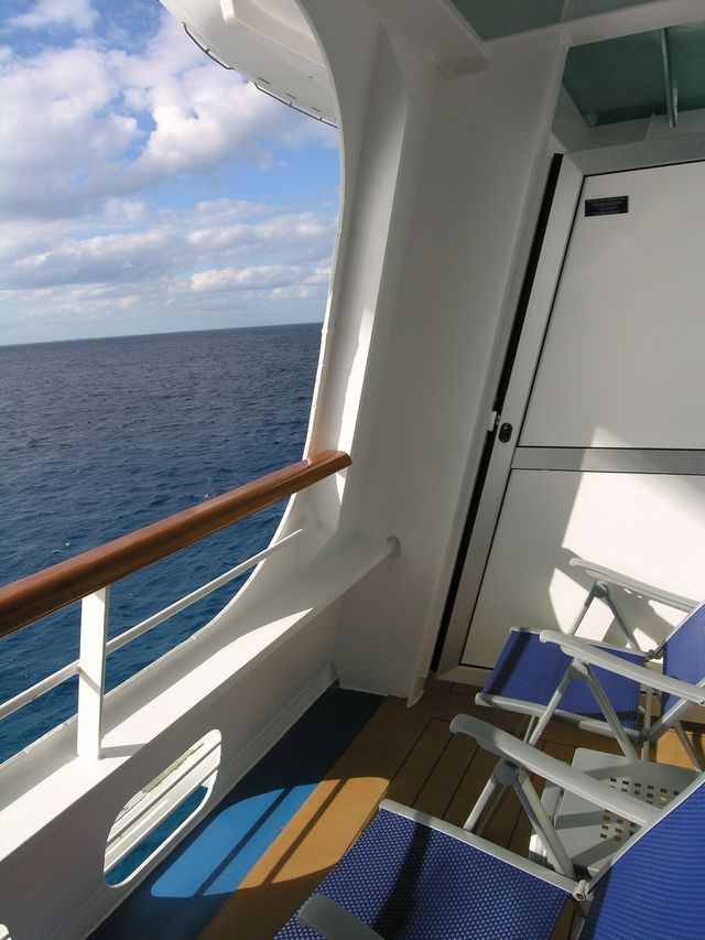 Carnival cruise cove balcony reviews for Cruise balcony