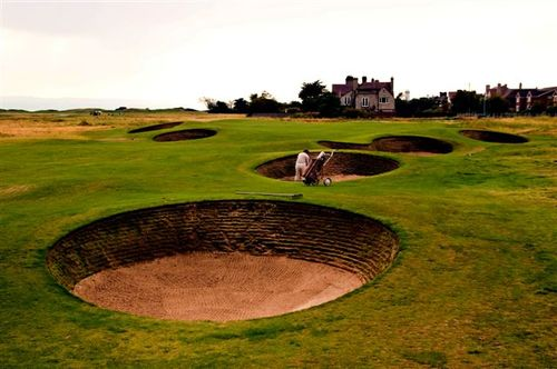 1. Braving the bunkers of Royal Liverpool