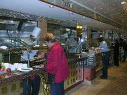 Norwegian Gem buffet