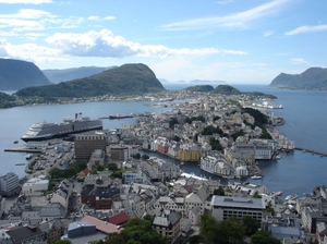 Eurodam Holland America Alesund Norway
