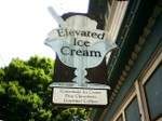 Elevated Ice Cream, Port Townsend, Washington